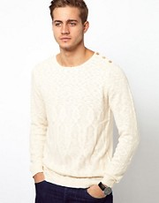 Selected Jumper With Shoulder Button Detail
