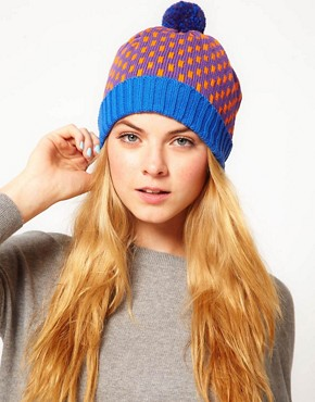 Image 1 ofAll Knitwear Royal Dash Bobble Hat