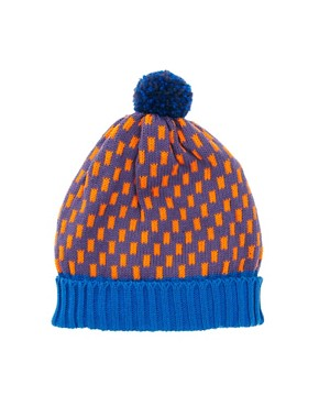 Image 2 ofAll Knitwear Royal Dash Bobble Hat
