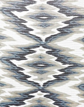 Image 2 ofNew Look Sparkle Ikat Print Scarf