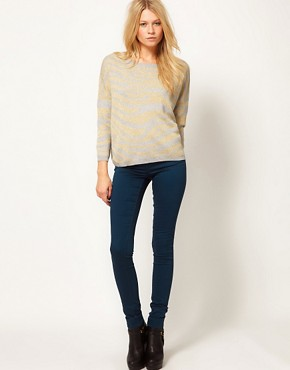 Image 4 ofASOS Animal Metallic Jumper