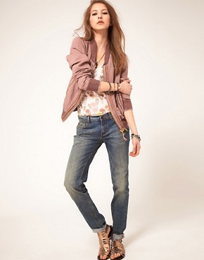 Image 4 of Zadig and Voltaire Skinny Jeans In Vintage Indigo Wash