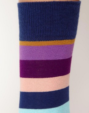 Image 2 ofHappy Socks Multi Stripe Socks