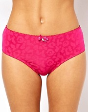 Curvy Kate Smoothie Leopard High Rise Brief