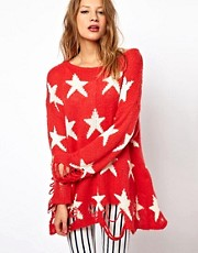 Wildfox Seeing Star Jumper