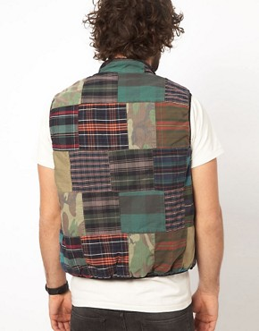 Image 2 ofDenim &amp; Supply Ralph Lauren Patchwork Gilet