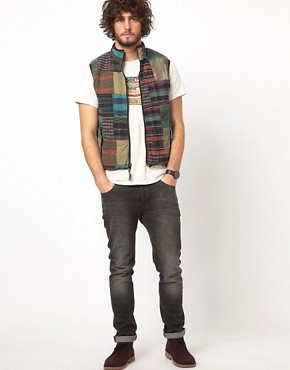 Image 4 ofDenim &amp; Supply Ralph Lauren Patchwork Gilet