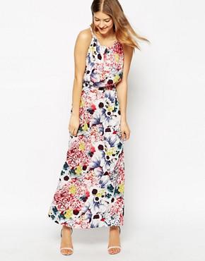 Vila Viflowan Printed Maxi Dress