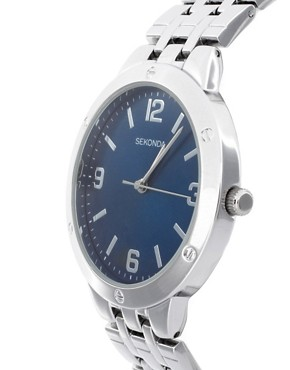 Image 4 ofSekonda 3255 Silver Stainless Steel Bracelet Watch