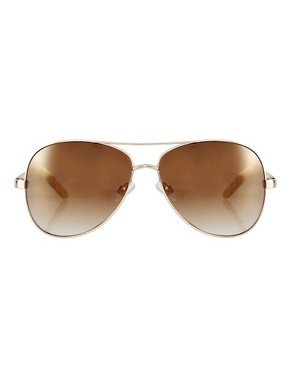 Image 2 ofMango Graduated Lens Aviator Sunglasses