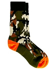 Stance  Deer Hunter  Socken mit Tarnmuster