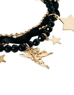 Image 4 ofDisney Couture Exclusive To ASOS Star Charm Bracelet