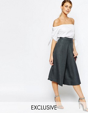 Love Tailored Culottes in Fishbone