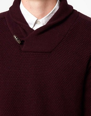 Image 3 ofBen Sherman Shawl Collar Jumper