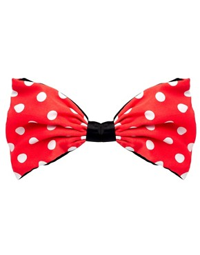 Image 2 ofJohnny Loves Rosie Spotted Bow Clip