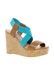 Steve Madden Terorr Platform Wedge Sandals