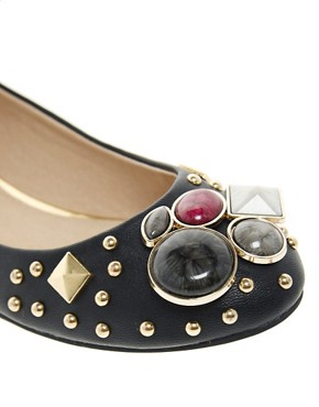 Image 4 ofALDO Simivalley Jewelled Ballet Flats