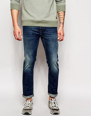 French Connection Mid Wash Jeans In Slim Fit
