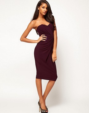Image 2 ofASOS Bandeau Midi Dress