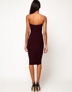 Image 3 ofASOS Bandeau Midi Dress