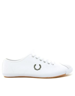 Image 4 ofFred Perry Laurel Wreath Table Tennis Plimsolls