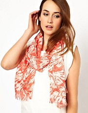 Mango Touch Printed Woven Scarf