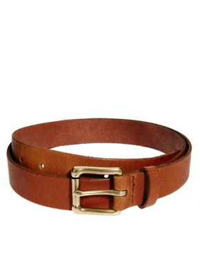 Image 2 ofASOS Leather Chino Belt