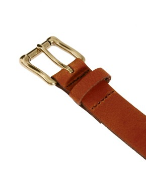 Image 3 ofASOS Leather Chino Belt