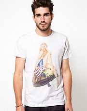 Edwin T-Shirt Nam Girl Print