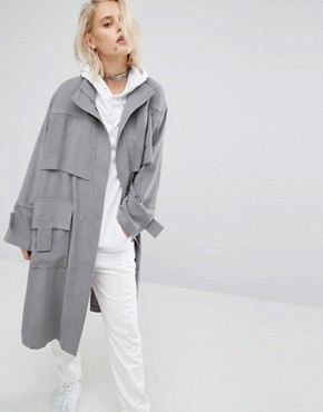 KKXX Trench Over Jacket