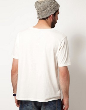 Image 2 ofNudie Wide Neck T-Shirt