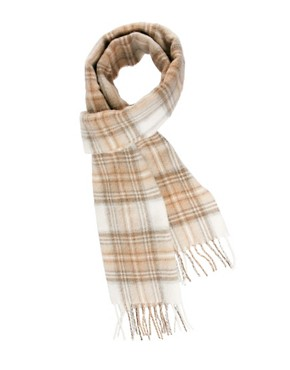 Image 1 ofJohnstons Tartan Scarf
