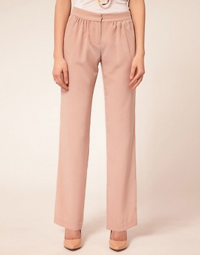 Bild 4 von ASOS PETITE  Exklusive, bequem zugeschnittene Hose