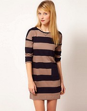 Chinti &amp; Parker Wide Stripe Dress