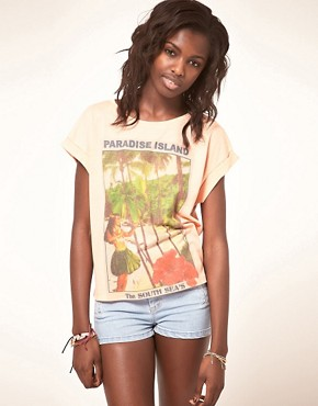 Image 1 ofASOS Paradise T-Shirt