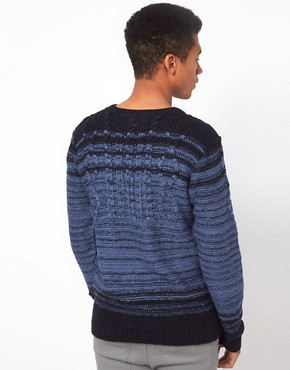 Image 2 ofBellfield Jumper in Cable Knit