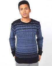 Bellfield Jumper in Cable Knit