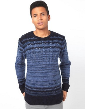 Image 1 ofBellfield Jumper in Cable Knit