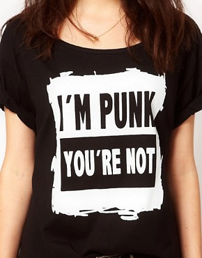 Image 3 of A Question Of Punk Organic Cotton T Shirt