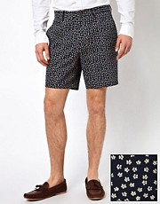 ASOS Shorts in Ditsy Floral Print