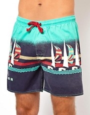 The Critical Slide Society Vacation Swimshort 16&quot;