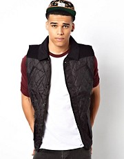 Another Influence Quilted Gilet