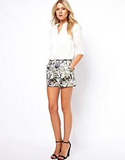 Oasis Floral Tailored Short
