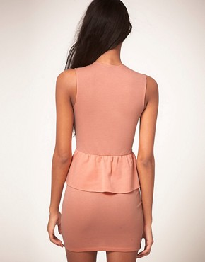 Image 2 ofOh My Love Jersey Peplum Dress