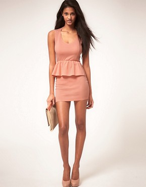 Image 4 ofOh My Love Jersey Peplum Dress
