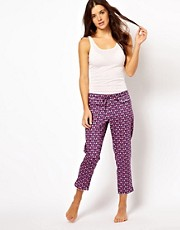 Princesse Tam Tam PJ Bottoms With Apple Print