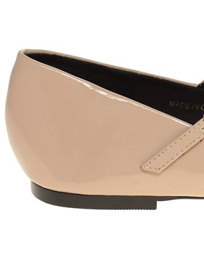 Image 2 ofASOS LEIGH Patent Ballet Flats with T-bar