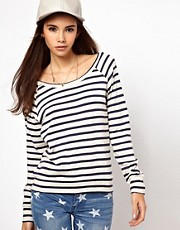 Only Stripe Sweat