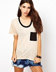 Lucca Couture Pocket Top