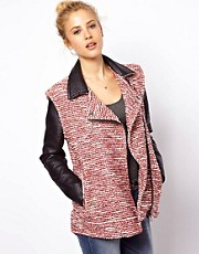 ASOS Textured Biker Jacket